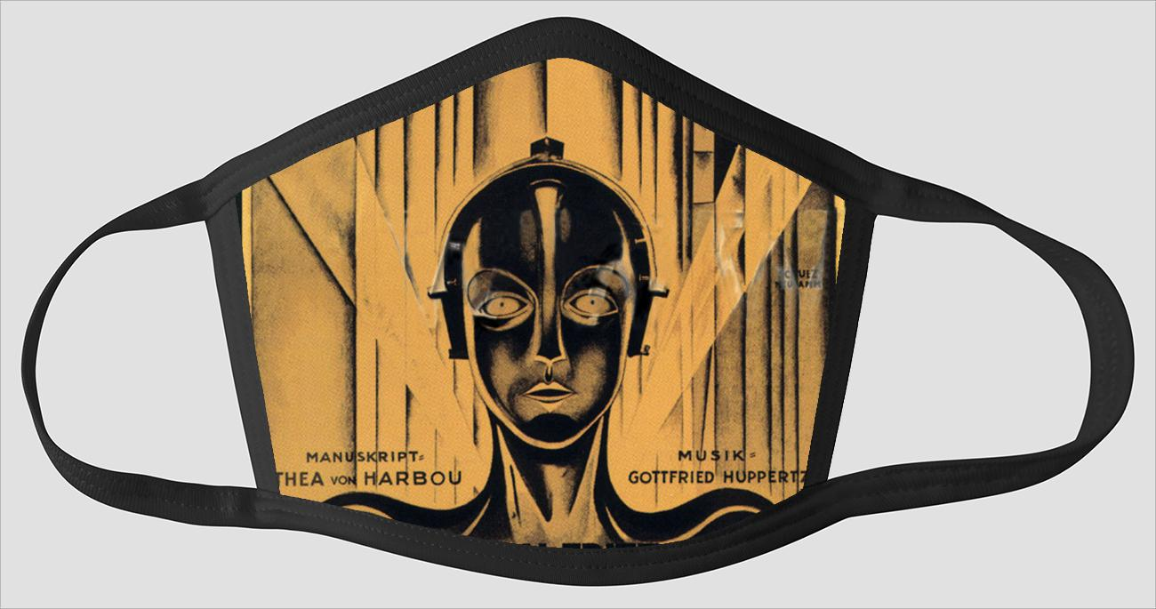 Movie Poster 51   Metropolis - Face Mask