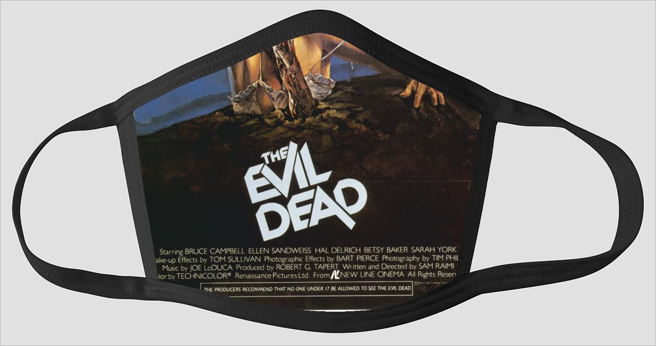Movie Poster 66   The Evil Dead - Face Mask