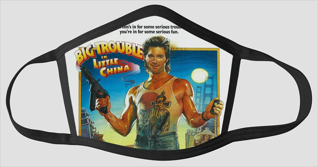 Movie Poster 68   Big Trouble In Little China - Face Mask