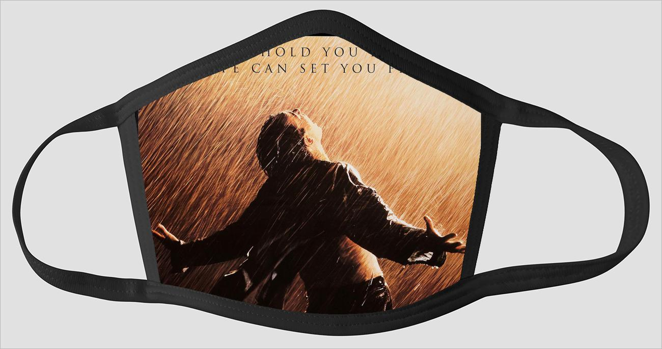Movie Poster 74   The Shawshank Redemption - Face Mask