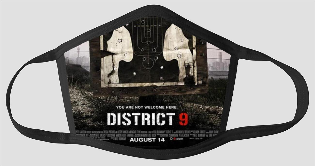 Movie Poster 85 District 9 - Face Mask