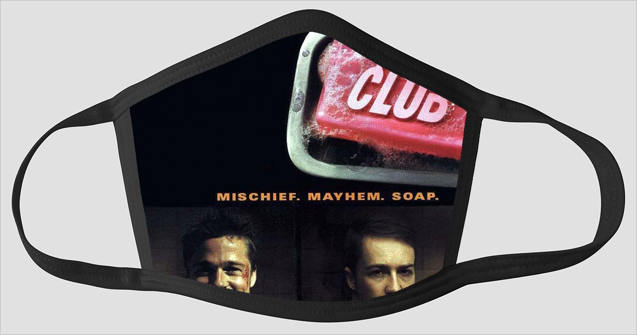 Movie Poster 87   Fight Club - Face Mask
