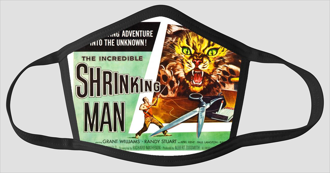 Movie Poster 88   The Incredible Shrinking Man - Face Mask