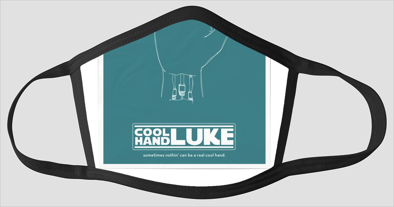 Movie Poster 93   Cool Hand Luke - Face Mask