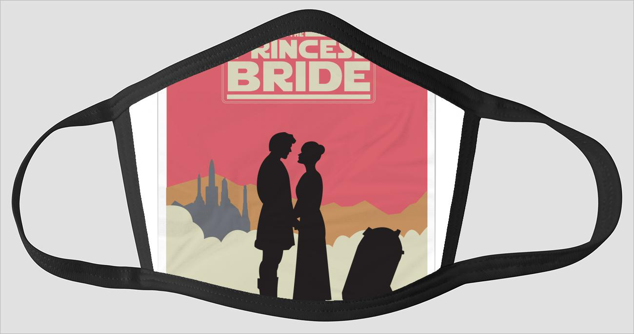 Movie Poster 97   The Princess Bride   Star Wars - Face Mask