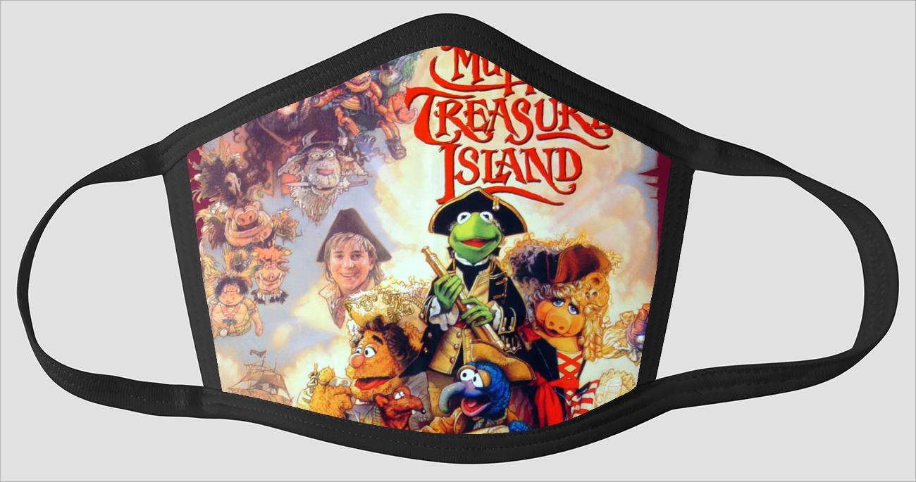 Muppet Treasure Island Poster - Face Mask