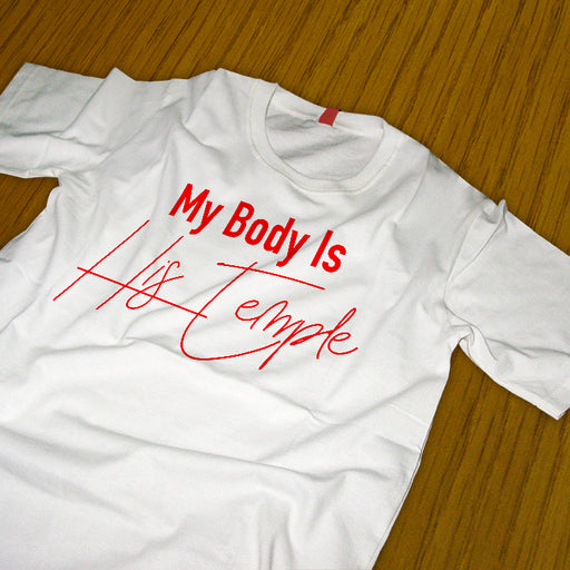 My Body Is His Temple Tee