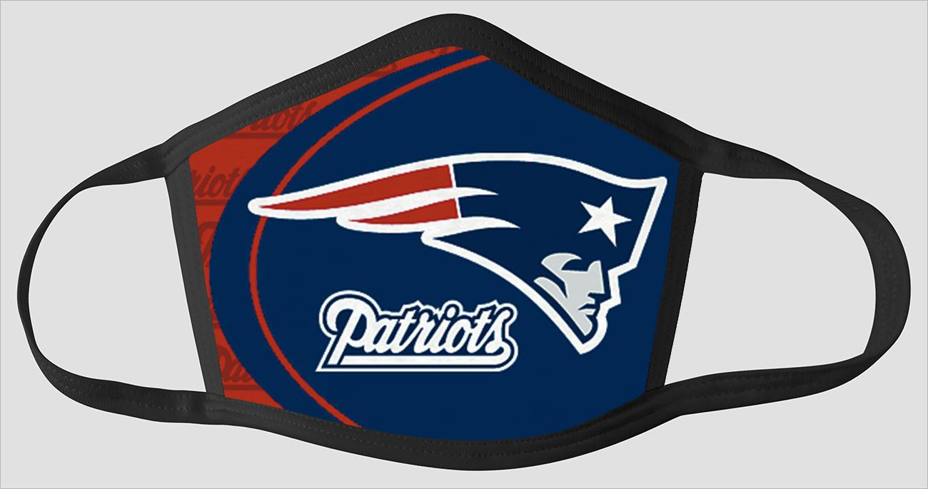New England Patriots   The Run v02 - Face Mask