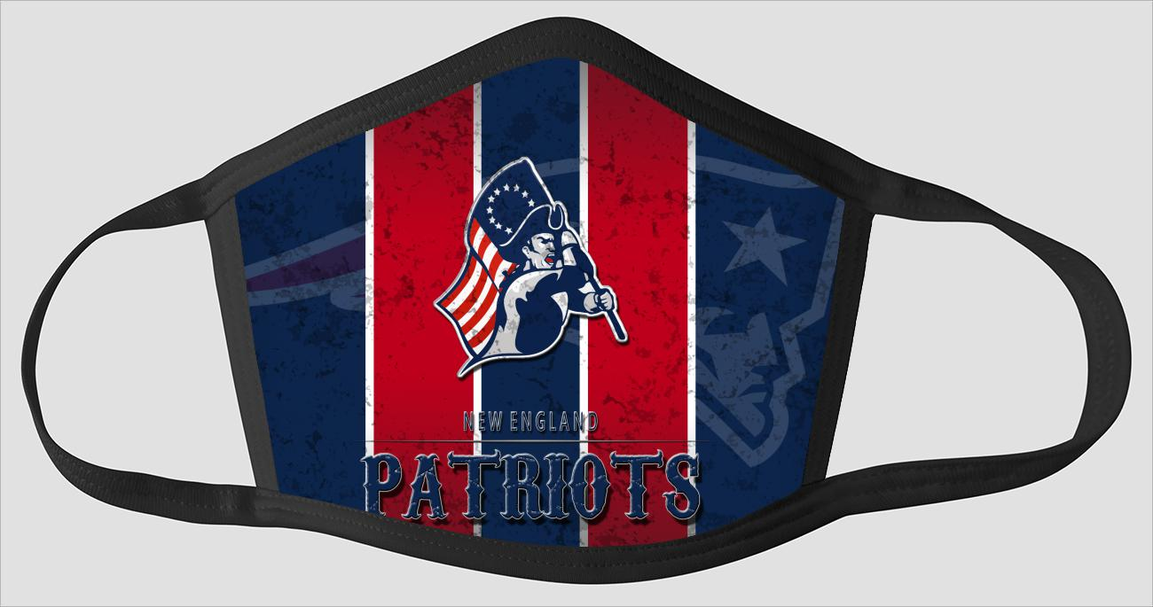 New England Patriots   The Run v12 - Face Mask