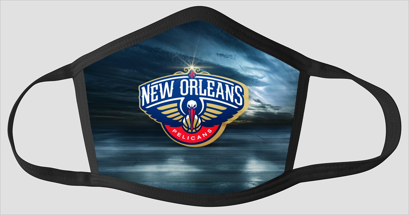New Orleans Pelicans The Run v2 - Face Mask
