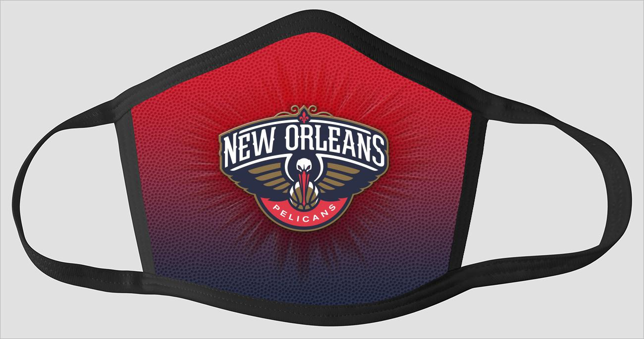 New Orleans Pelicans The Run v4 - Face Mask