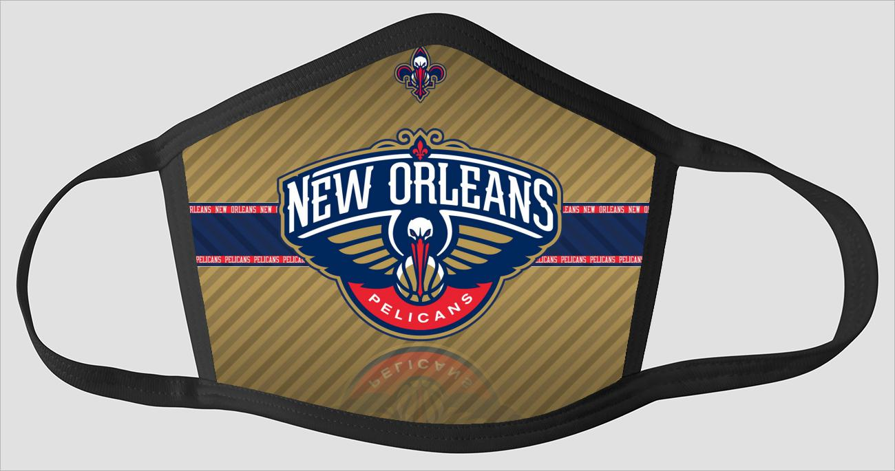 New Orleans Pelicans The Run v5 - Face Mask