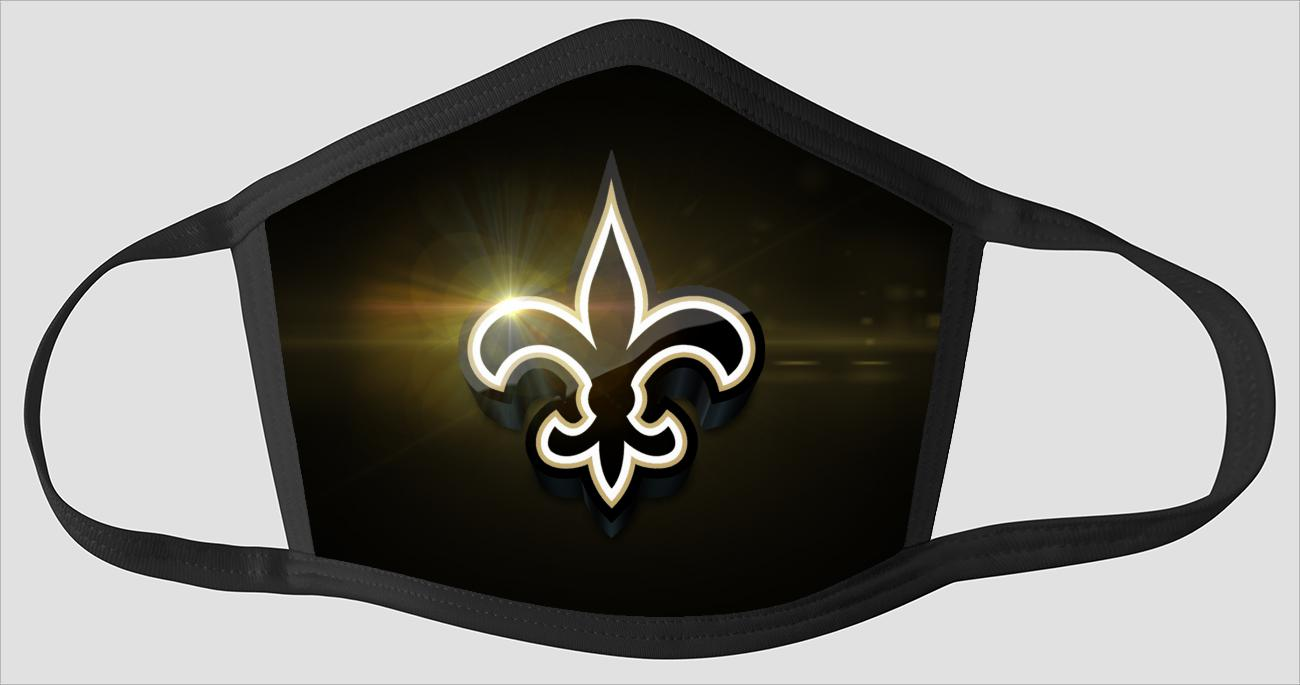 New Orleans Saints   The Run v01 - Face Mask