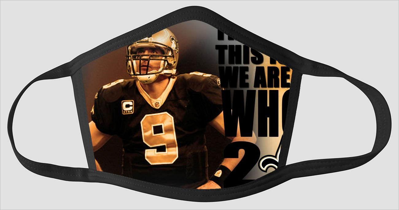 New Orleans Saints   The Run v12 - Face Mask