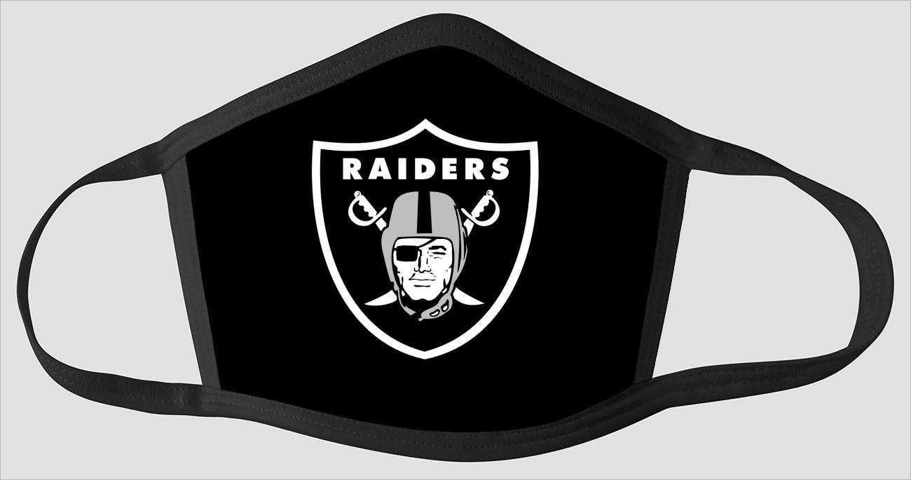 Oakland Raiders   The Run v4 - Face Mask