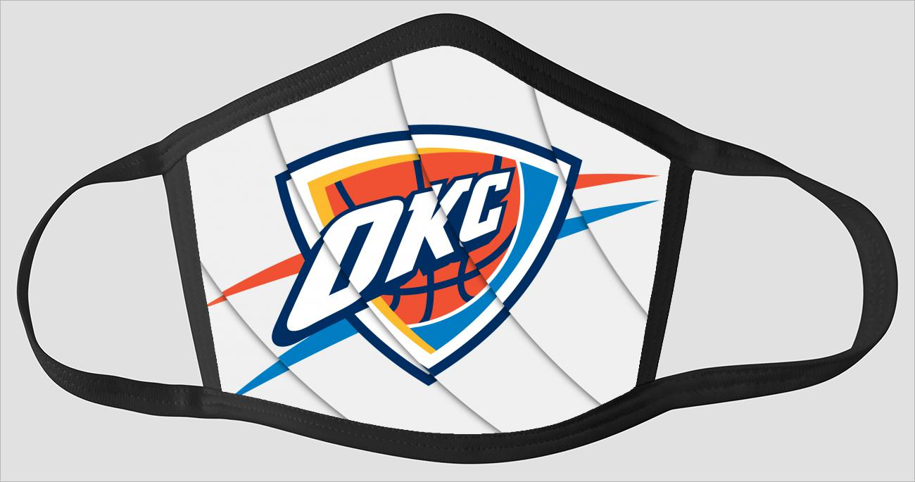 Oklahoma City Thunder OKC The Run v20 - Face Mask