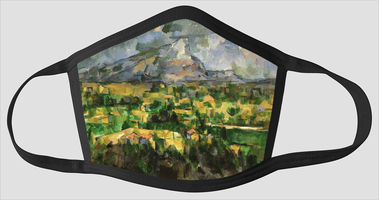 Paul Cezanne    French    1839 1906    Mont Sainte Victoire - Face Mask