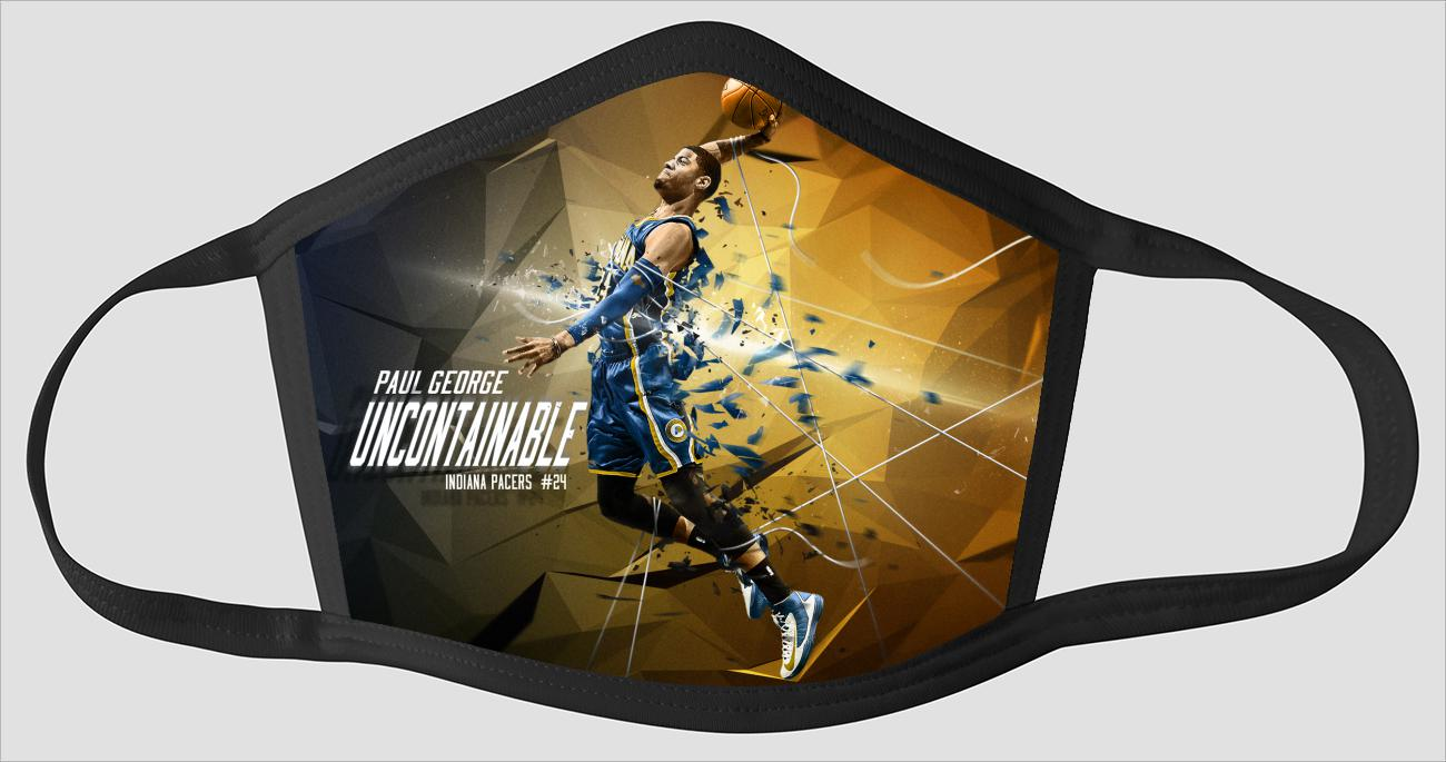 Paul George Uncontainable Indiana Pacers - Face Mask
