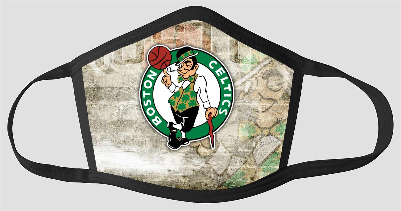 Perfect Boston Celtics sv2444 - Face Mask