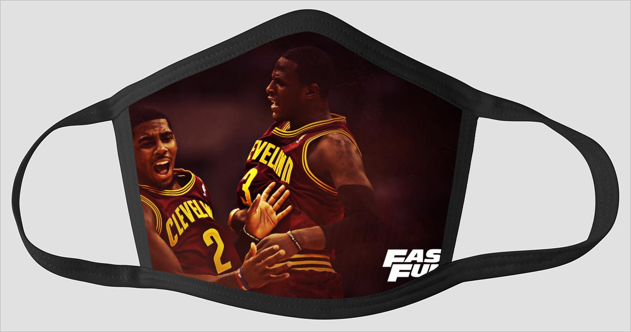 Perfect Cleveland Cavaliers sv2445 - Face Mask