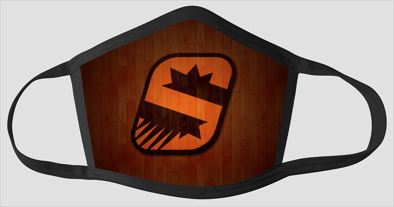 Phoenix Suns Logo Wallpaper 2 - Face Mask