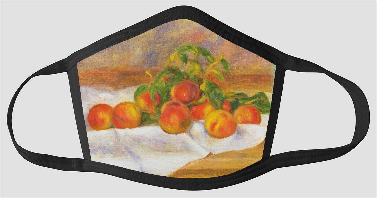 Pierre Auguste Renoir    French    1841 1919    Peaches (Les Peches) - Face Mask