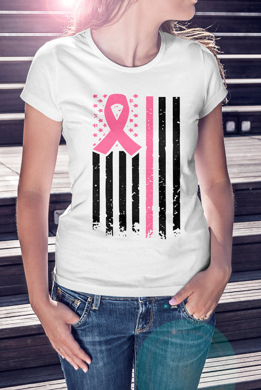 Pink Warrior W- Breast Cancer Shirt
