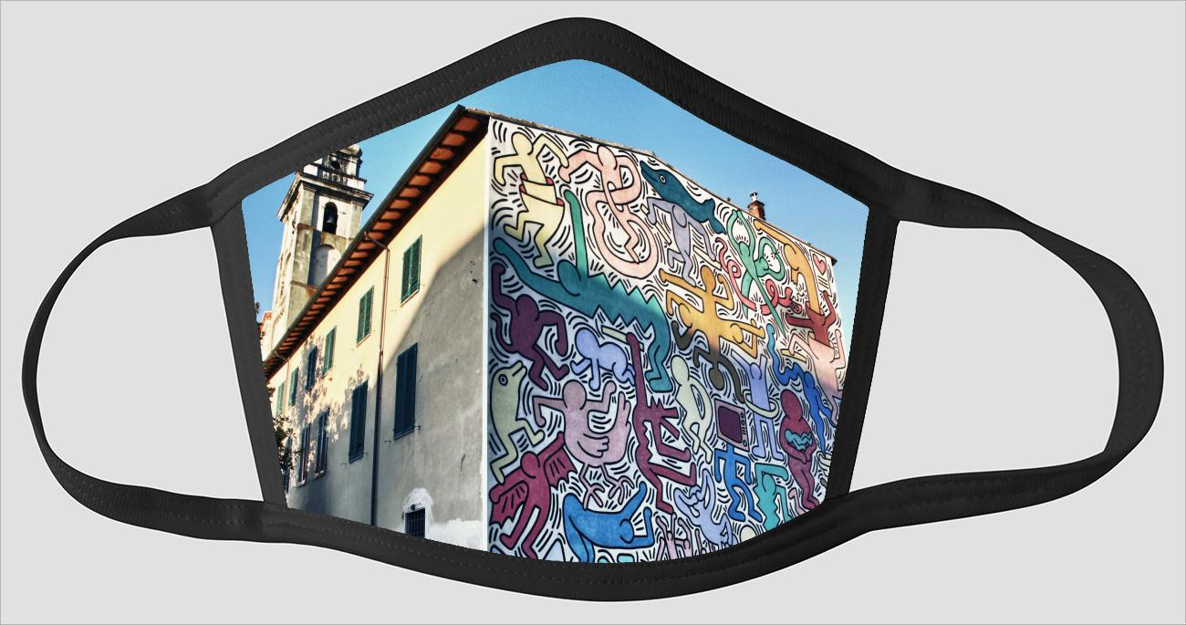 Pisa Italy Visions v05 - Face Mask