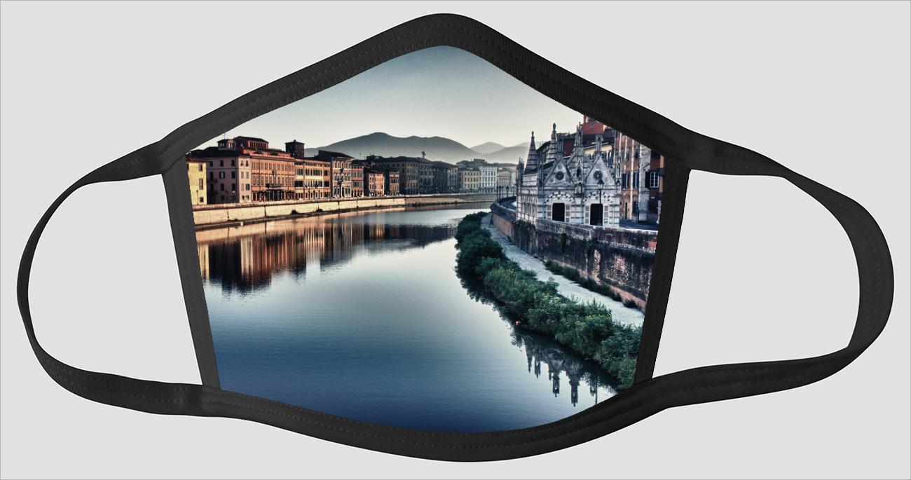 Pisa Italy Visions v11 - Face Mask
