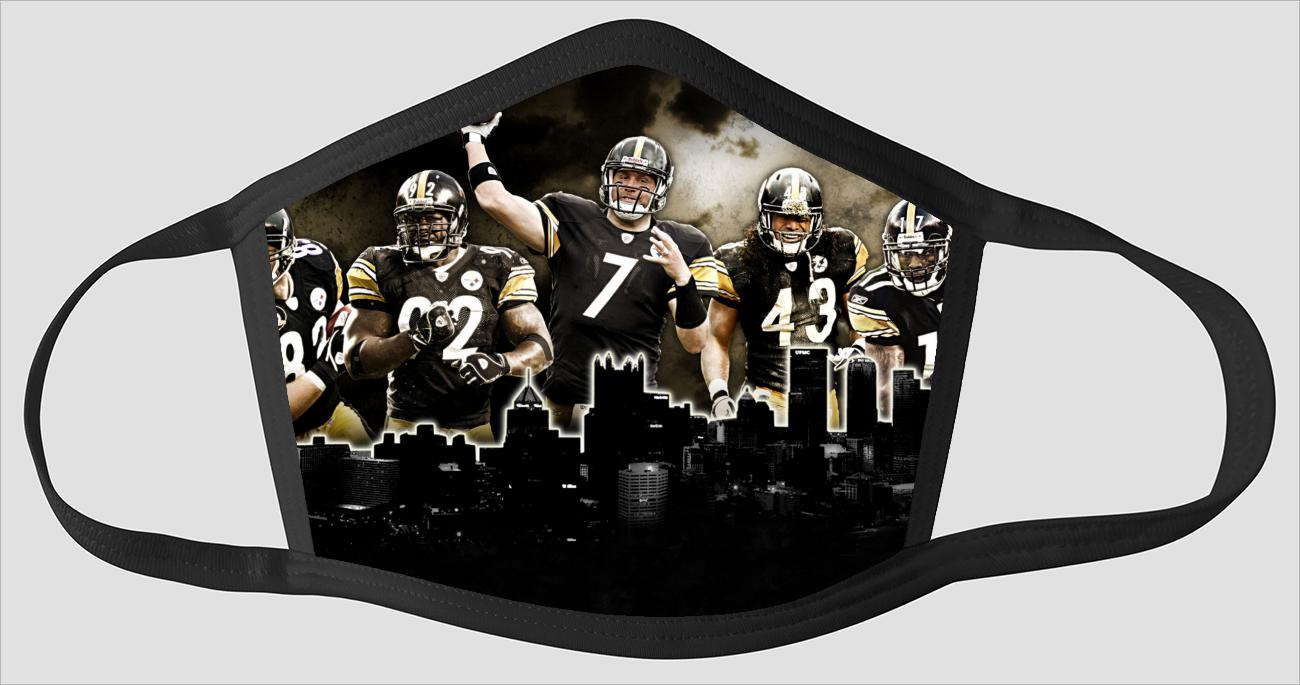 Pittsburgh Steelers   The Run v10 - Face Mask