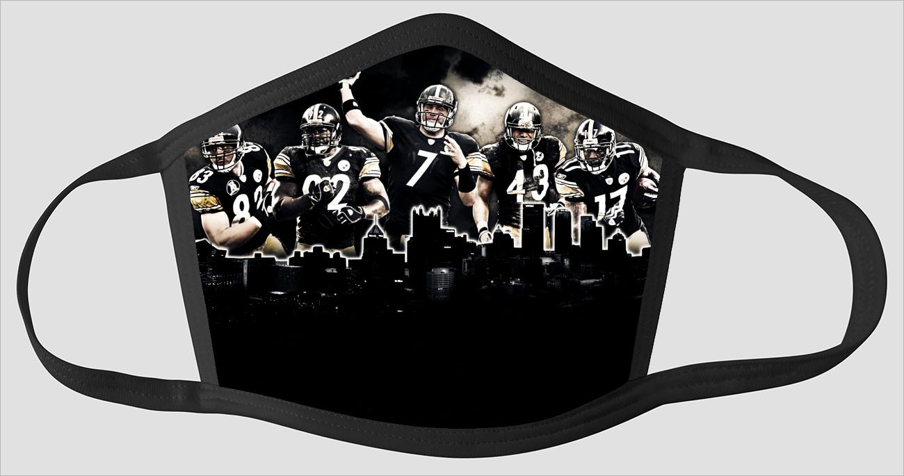 Pittsburgh Steelers   The Run v11 - Face Mask