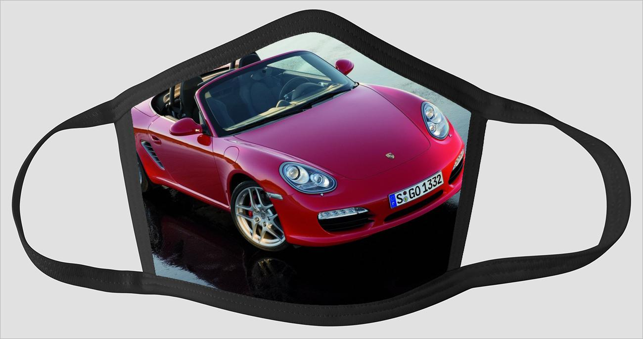 Porsche Boxster graphyv2524 - Face Mask