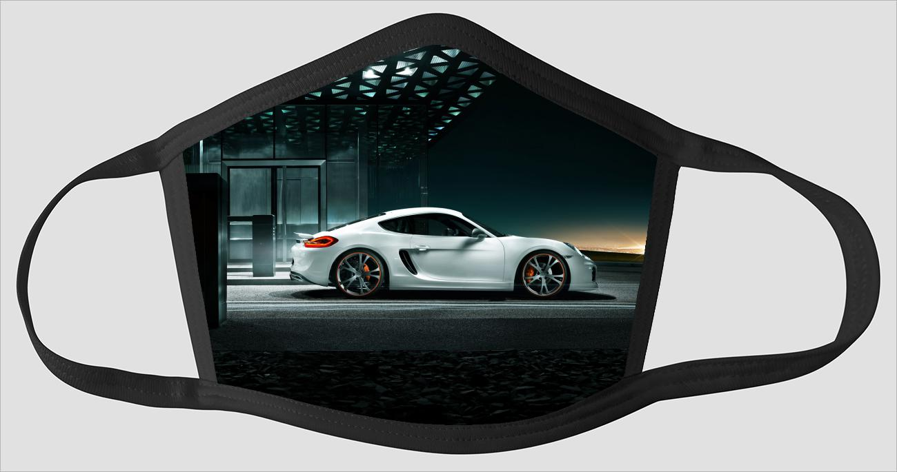Porsche Cayman v2543 - Face Mask