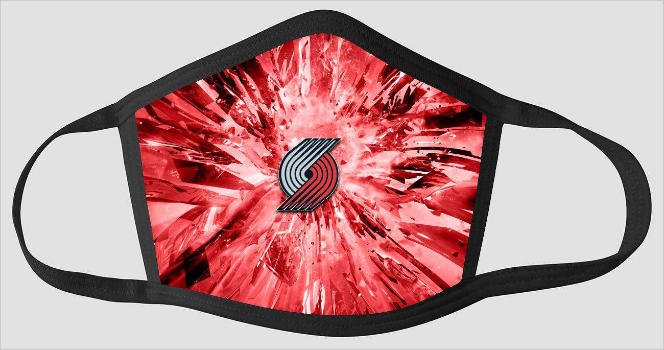 Portland Trail Blazers The Run v9 - Face Mask
