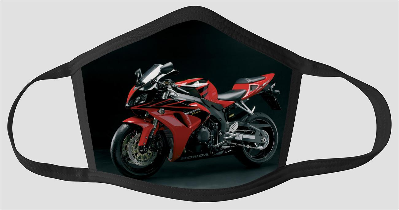 Red Honda CBR1000RR v2595 - Face Mask