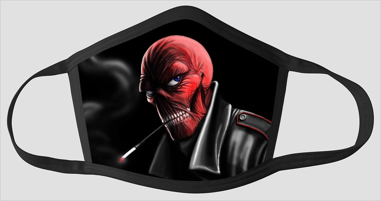 Red Skull   Captain America - Face Mask