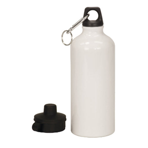 20 oz. WhiteAluminum Water Bottle