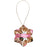 "3"" WhiteSnowflake Ceramic Ornament"