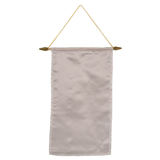 "9 1/2"" x 15 3/4""Banner with Hanging Cord"