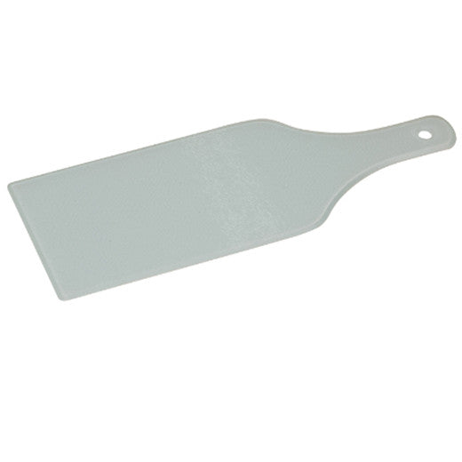 "4 1/2"" x 12 1/2"" Wine Bottle Shaped GlassCutting Board"