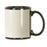 11 oz. Black/WhiteCeramic Banner Mug