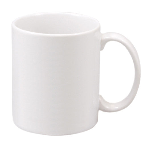 11 oz. WhiteCeramic Mug
