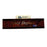 "9.375"" x 2.25"" Mahogany Executive Desk Wedge with Business Card Slot"
