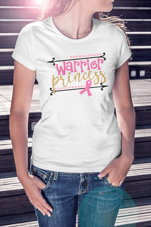Warrior Princess - Breast Cancer Shirt
