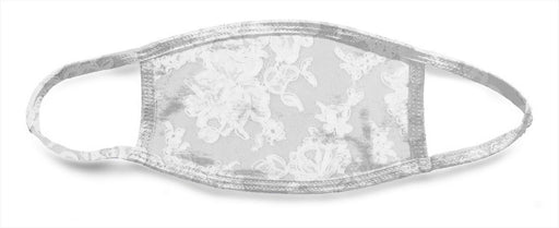 White Lace 7 - All Over Face Mask