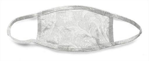 White Lace 8 - All Over Face Mask