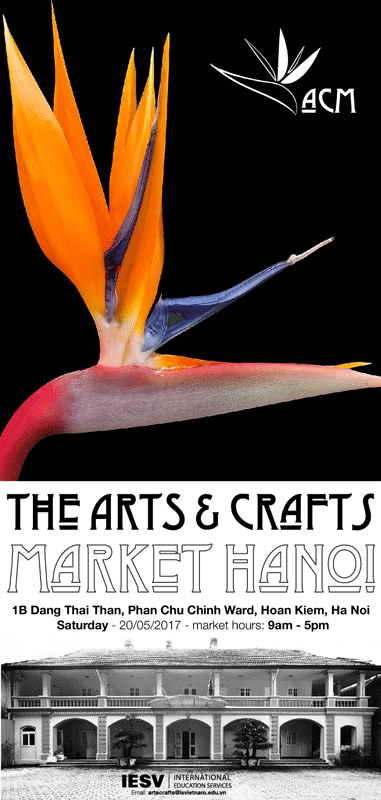 GỐC Studio at the Arts & Crafts Market Hanoi - Saturday 20th May 2017