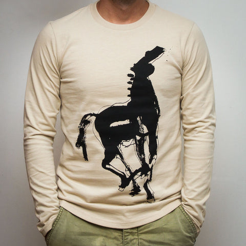 GỐC Studio Long Sleeve T-Shirt - Horse