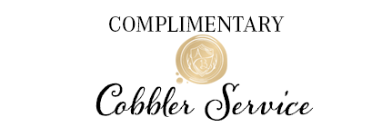 Complimentary Cobbler Service