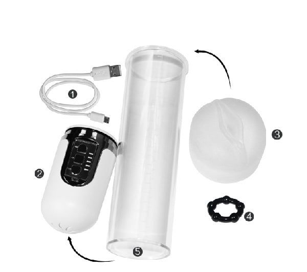 Maximizer Worx VX5 Rechargeable Pump White